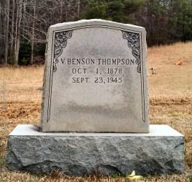 Thompson_VBenson_StoneyForkBapt_MtGileadMontgomeryCoNC
