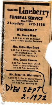 Ware_Dowd_Norman_Whittemore_funerallisting