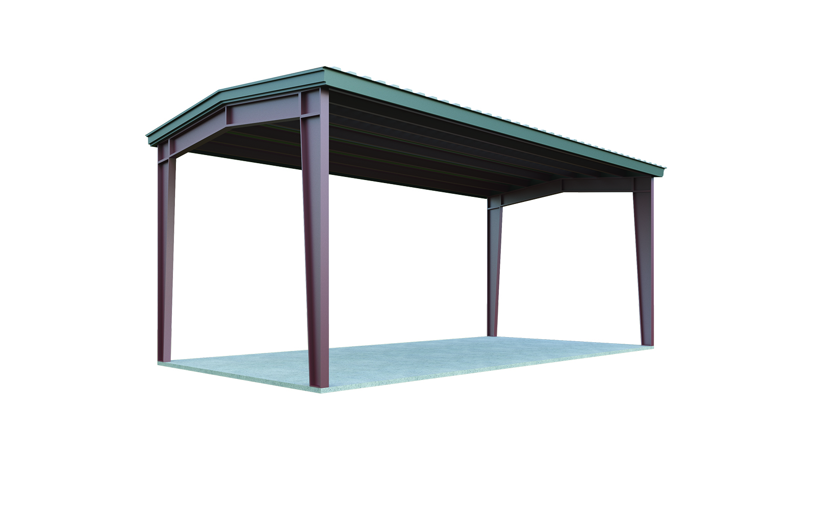 16x20 Carport Package Quick Prices General Steel Shop