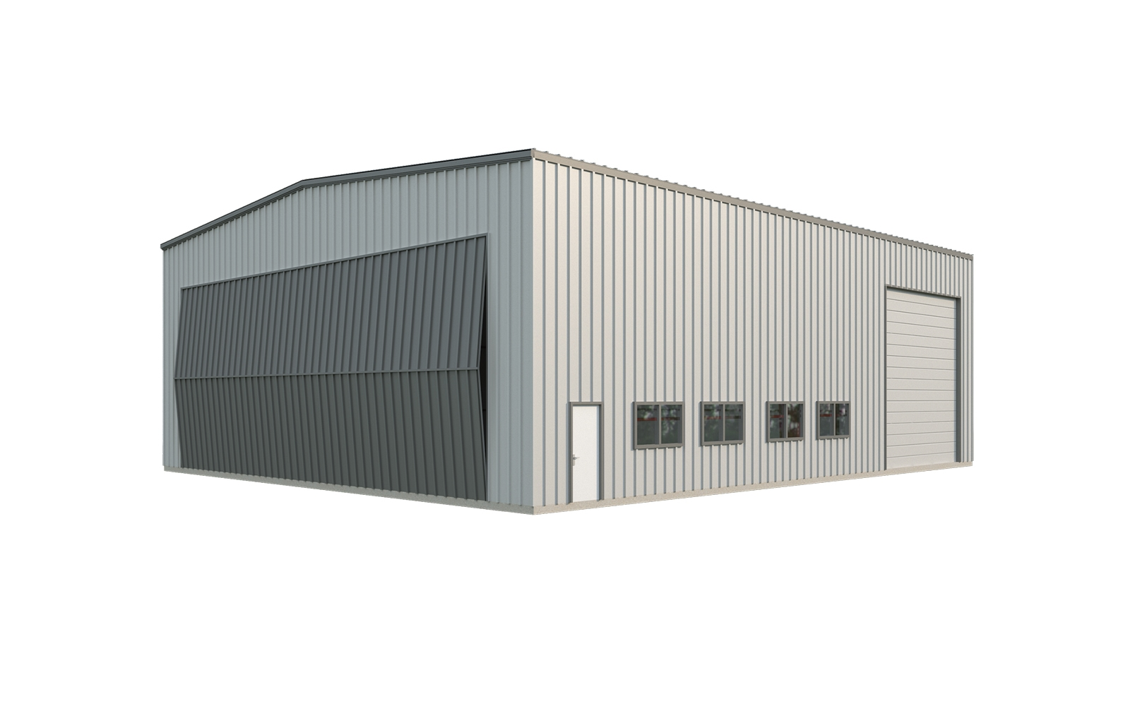 50x60 Aircraft Hangar Quick Prices General Steel