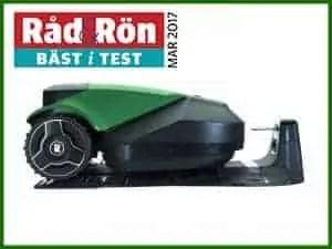 Robotgräsklippare RS615u, Robomow Bäst i test Råd&Rön