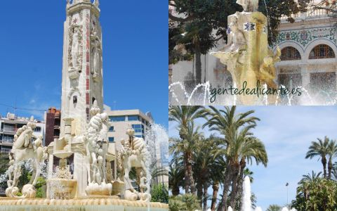 Alicante collage plazas