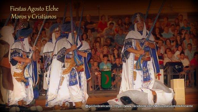Fiestas de Agosto de Elche, Moros y Cristianos.