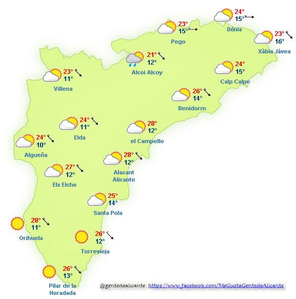 El-Tiempo-en-Alicante-y-provincia-hoy-03-de-Noviembre