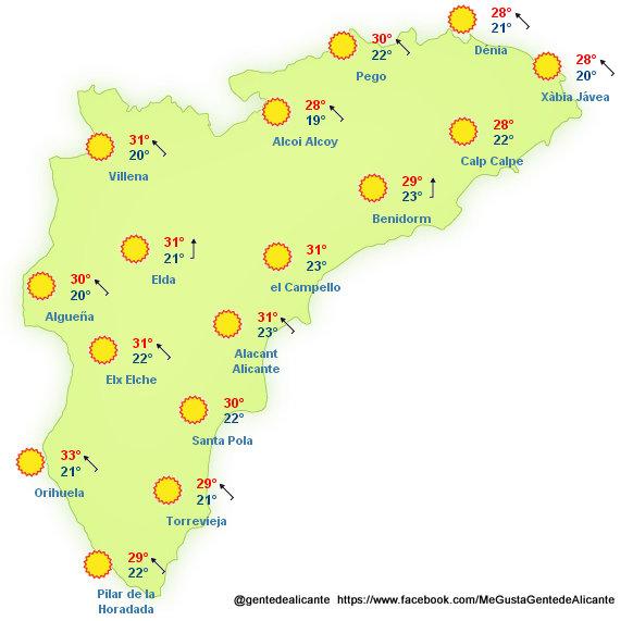El-tiempo-en-la-provincia-de-Alicante-11-08-2013