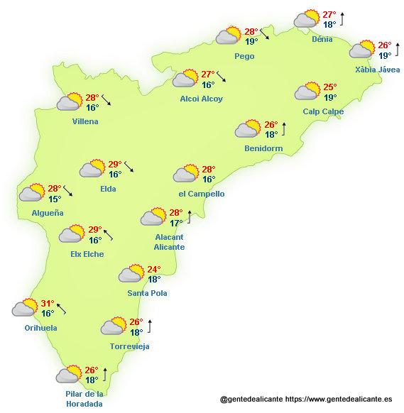 El-Tiempo-en-Alicante-y-provincia-hoy-19-de-Octubre