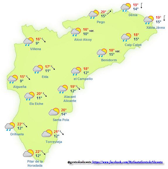 El-Tiempo-en-Alicante-y-provincia-hoy-13-de-Noviembre