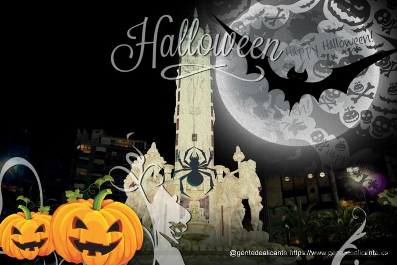 Alicante-plaza-de-los-luceros-cerca-noche halloween2