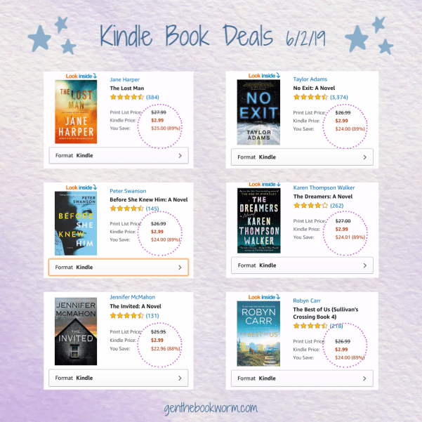 Kindle book deals