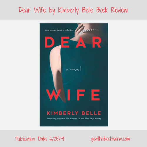 Dear Wife, psychological thriller, suspense, mystery