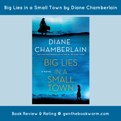 book review of Big Lies in a Small Town by Diane Chamberlain