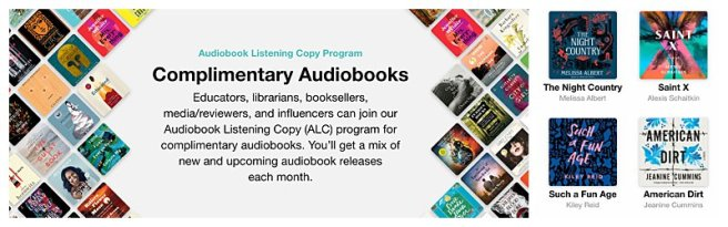 audiobook listening copy program