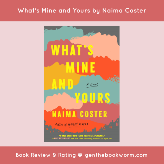 What's Mine and Yours book review
