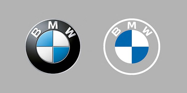 BMW is redesigning its iconic roundel logo with a more minimalist design.