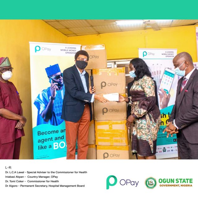 OPay Donates 300,000 Face Masks To Support Fight Against Spread of COVID-19 In Nigeria