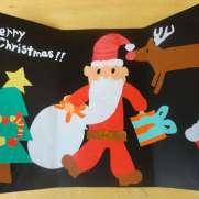 クリスマスカード 簡単 手作り 時期 メッセージ 英語 文例