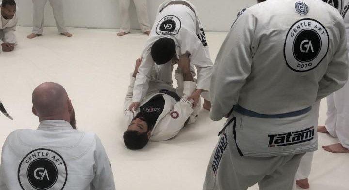 Taking your first class of Brazilian Jiu-Jitsu