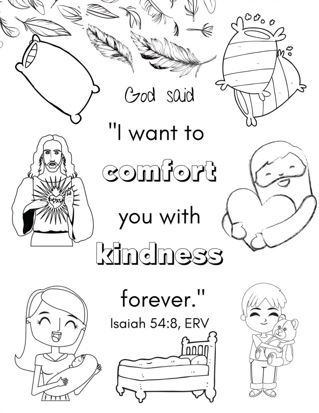 Free Bible Coloring Pages For Kids - Download Now - Gentle