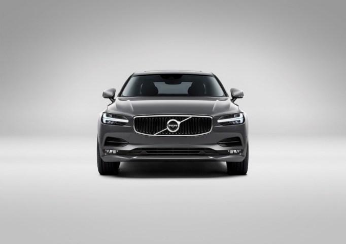 Front Volvo S90 Osmium Grey