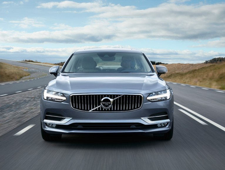 Location Volvo S90 Front Mussel Blue