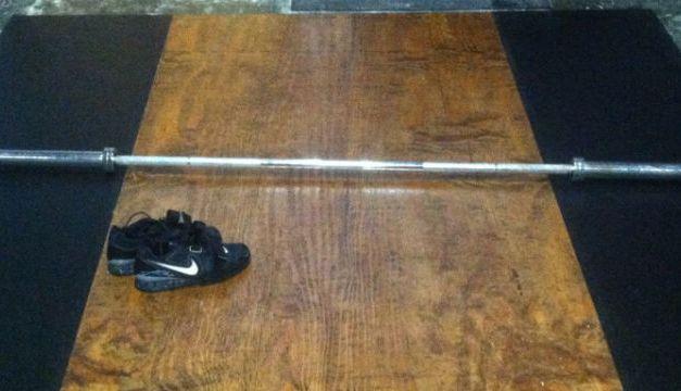 DIY: Build An Olympic Weightlifting Platform