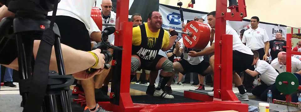 Andrey Malanichev Squats 1,014lbs Raw