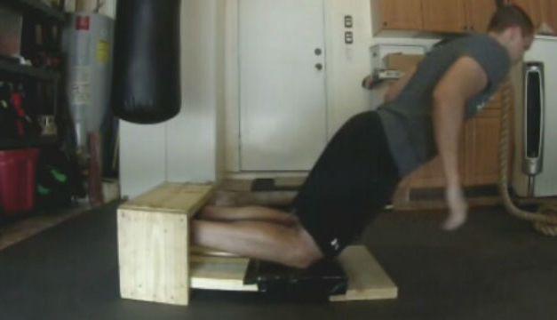 DIY Hamstring Trainer