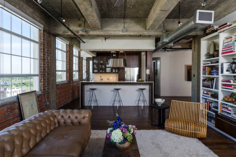 Bývanie v industriálnom štýle