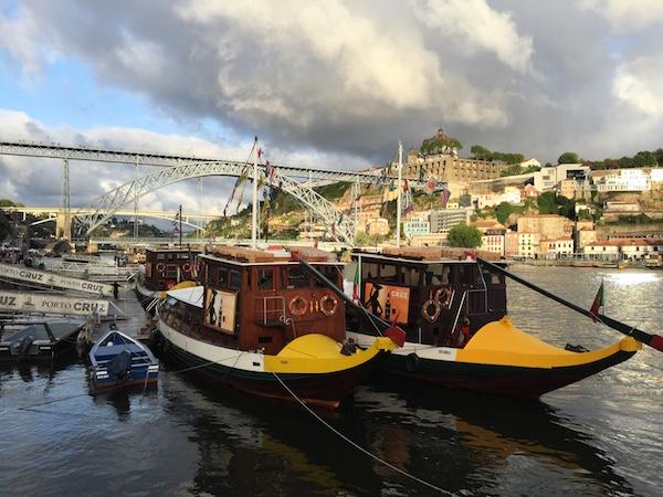 Le pont Luis 1er, la Ribeira et un photographe chanceux