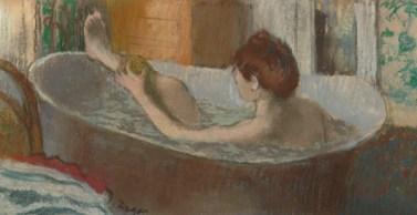 Edgar Degas, Femme dans son bain, 1883