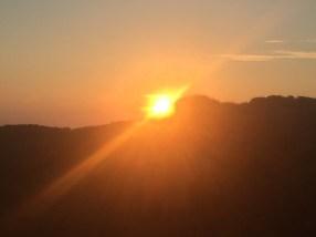 Le soleil se lève, c'est l'heure d'aller à Lozzi