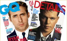 GQ and Details Style Magazine Covers
