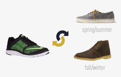 running shoes swap