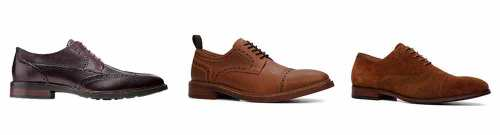 Brown Brogues Budget