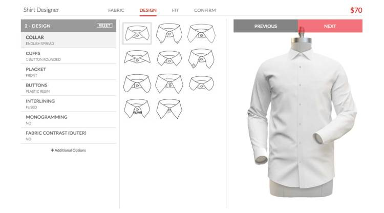 Custom Shirt Design Options