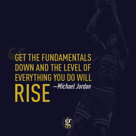 Michael Jordan Fundamentals | GENTLEMAN WITHIN