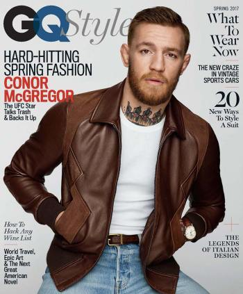GQ Style Conor McGregor Cover