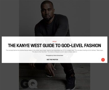 GQ Kanye West Guide To Fashion