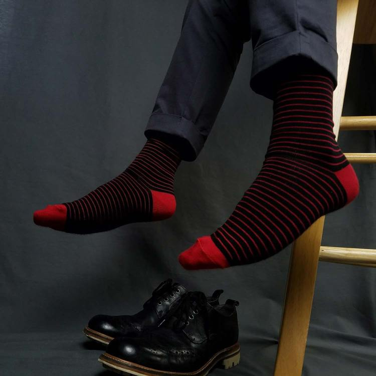 Edge Signature Men's Bamboo Socks