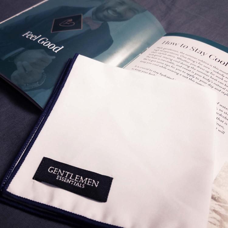 Gentlemen Essentials Pocket Square   GENTLEMAN WITHIN