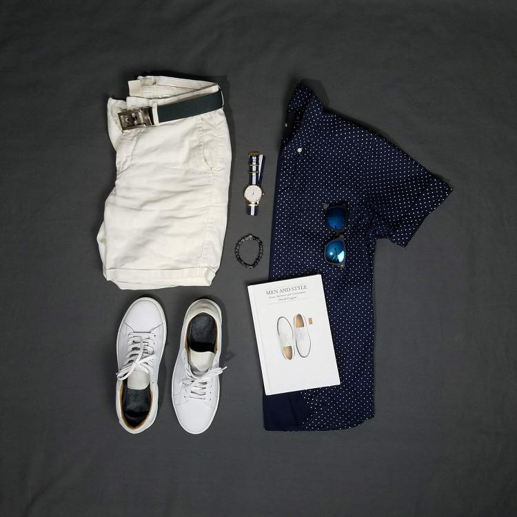 Backyard Summers Flatlay | GENTLEMAN WITHIN