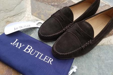 Jay Butler Cromwell Suede Loafers | GENTLEMAN WITHIN