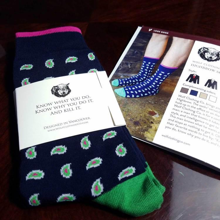 Wolf Clothing Co Socks