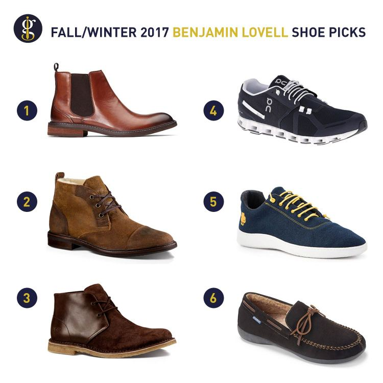 Benjamin Lovell Shoe Picks For Fall Winter 2017 | GENTLEMAN WITHIN