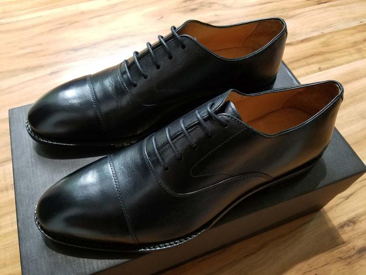 Beckett Simonon Dean Oxford Side Profile | GENTLEMAN WITHIN