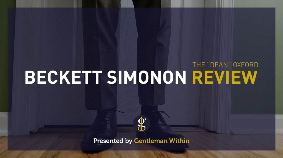 All Men Need One Pair of Black Shoes: Beckett Simonon Review