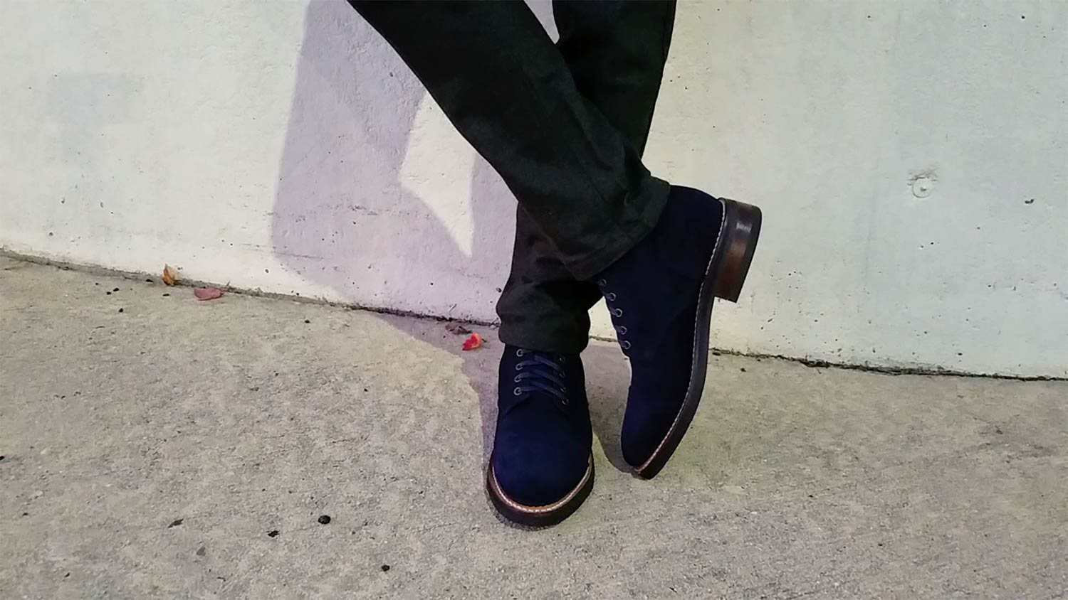 Thursday Midnight Suede Cap-Toe Boots | GENTLEMAN WITHIN