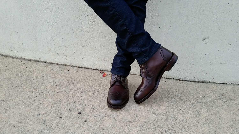 Allen Edmonds Dalton Brogue Dress Boot | GENTLEMAN WITHIN