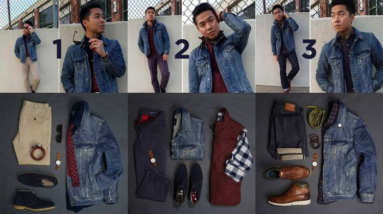 Fall Essential Denim Jacket | GENTLEMAN WITHIN