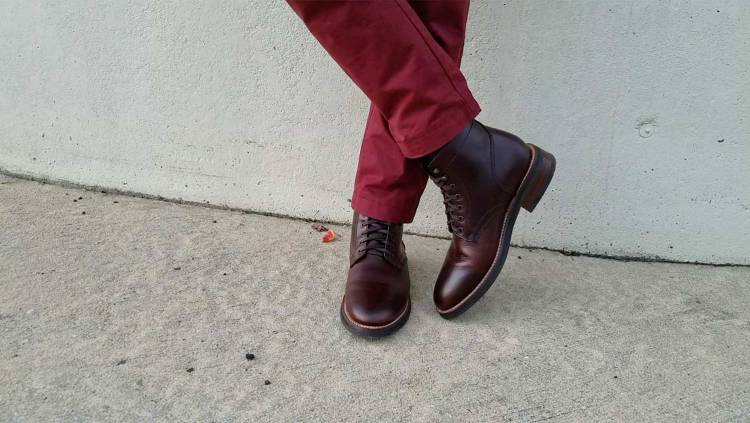 Thursday Plain-Toe Boots | GENTLEMAN WITHIN